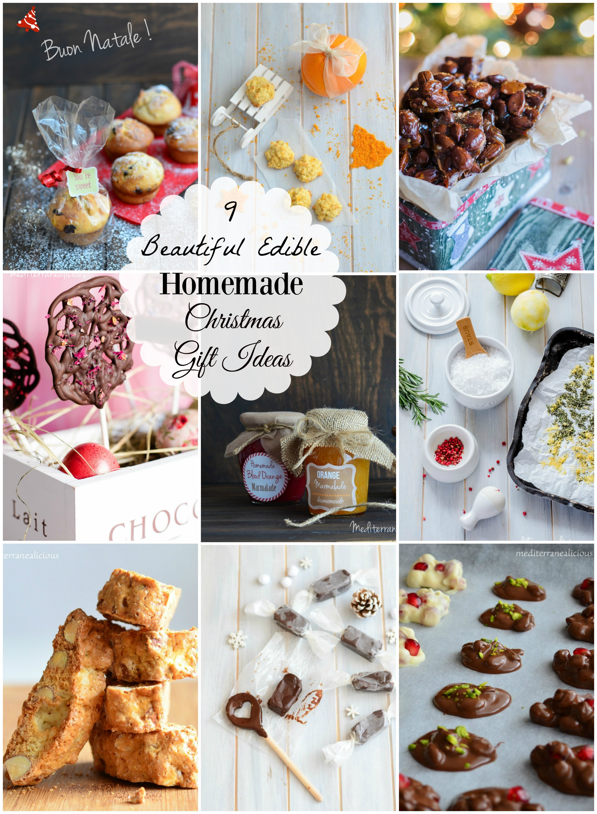 9 beautiful edible christmas gift ideas mediterranealicious for Edible christmas gifts to make in advance